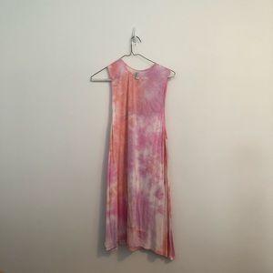 American Apparel Tie Dye Dress